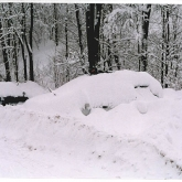 Zima 2006 parkoviště